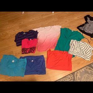 Lot of maternity shirts 🌸